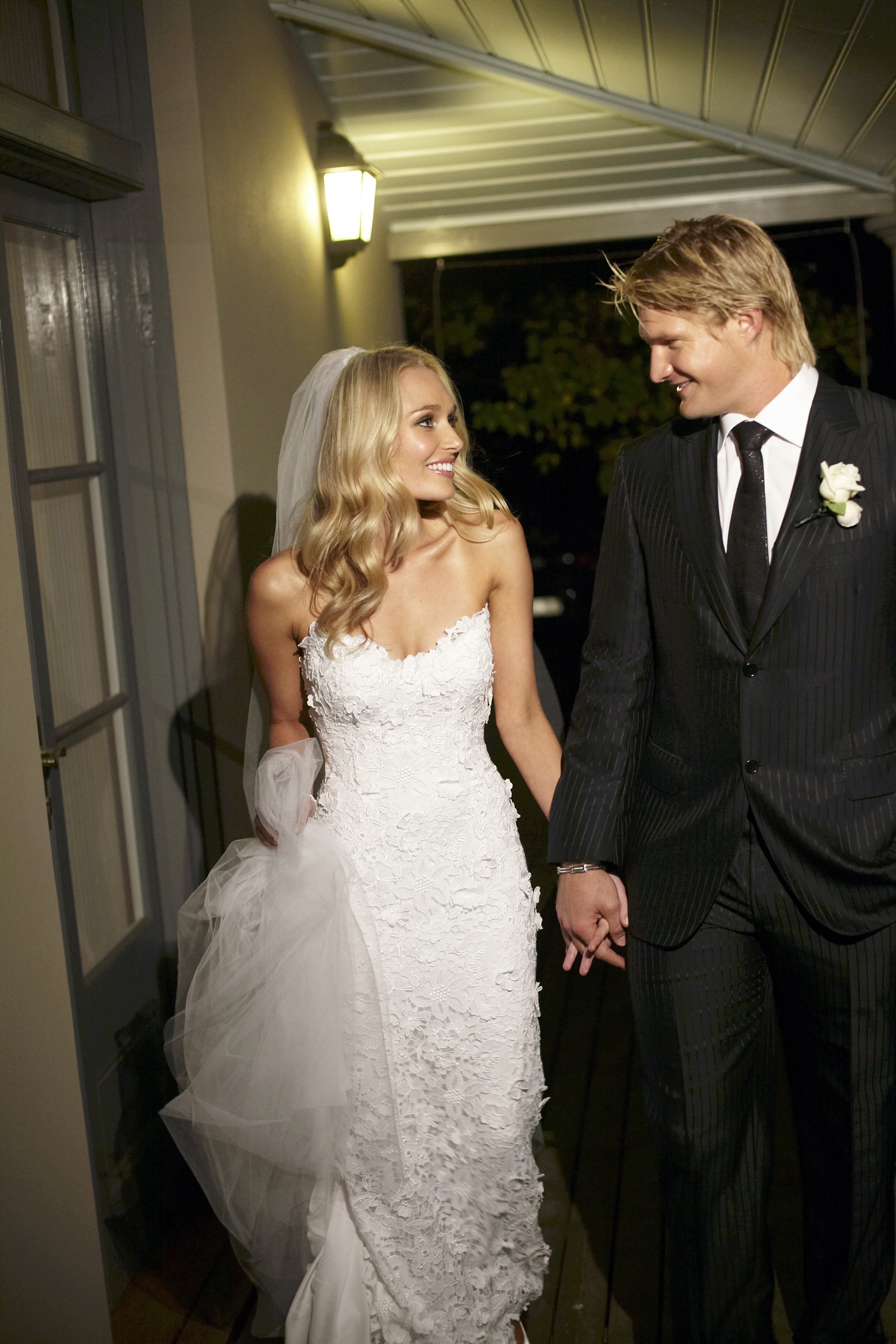 Lee and Shane Watson Wedding